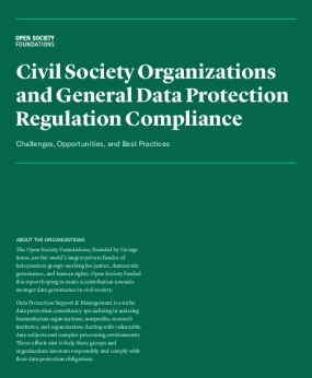 Civil Society Organizations and General Data Protection Regulation Compliance