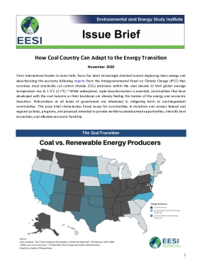 Issue Brief: How Coal Country Can Adapt to the Energy Transition